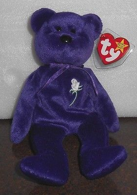 Rare 1997 1st Edition Princess Diana Retired Beanie Baby- Mint condition!