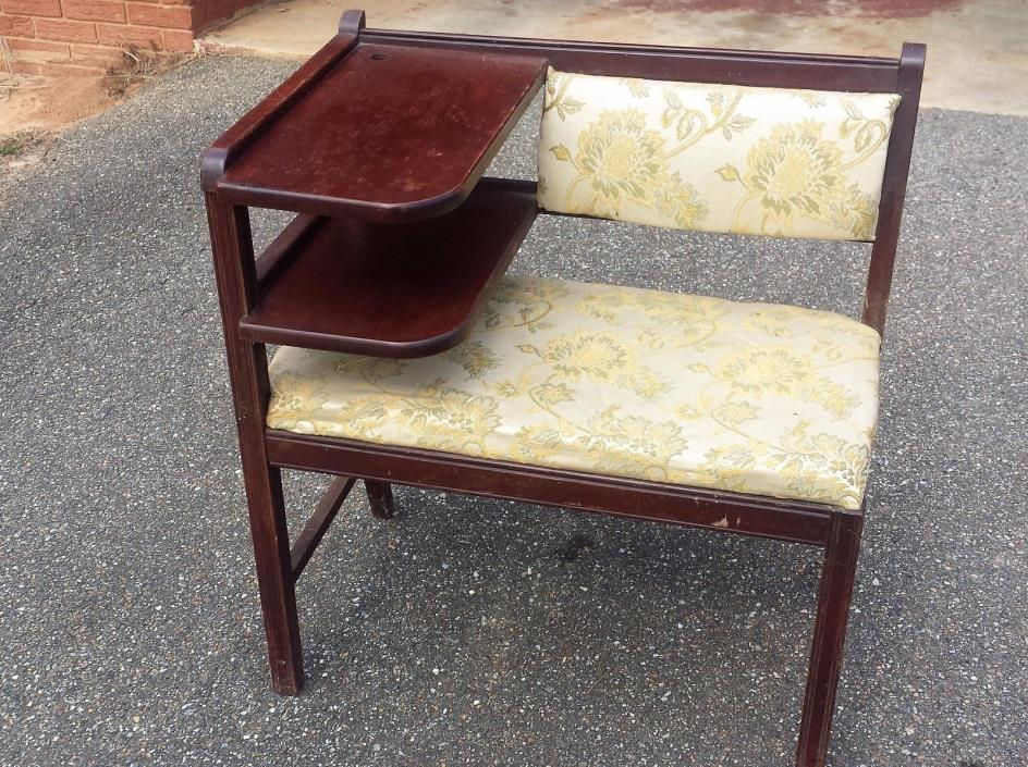 Vintage Telephone Chair Gossip Bench