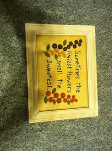 Wall Decor Plaque New