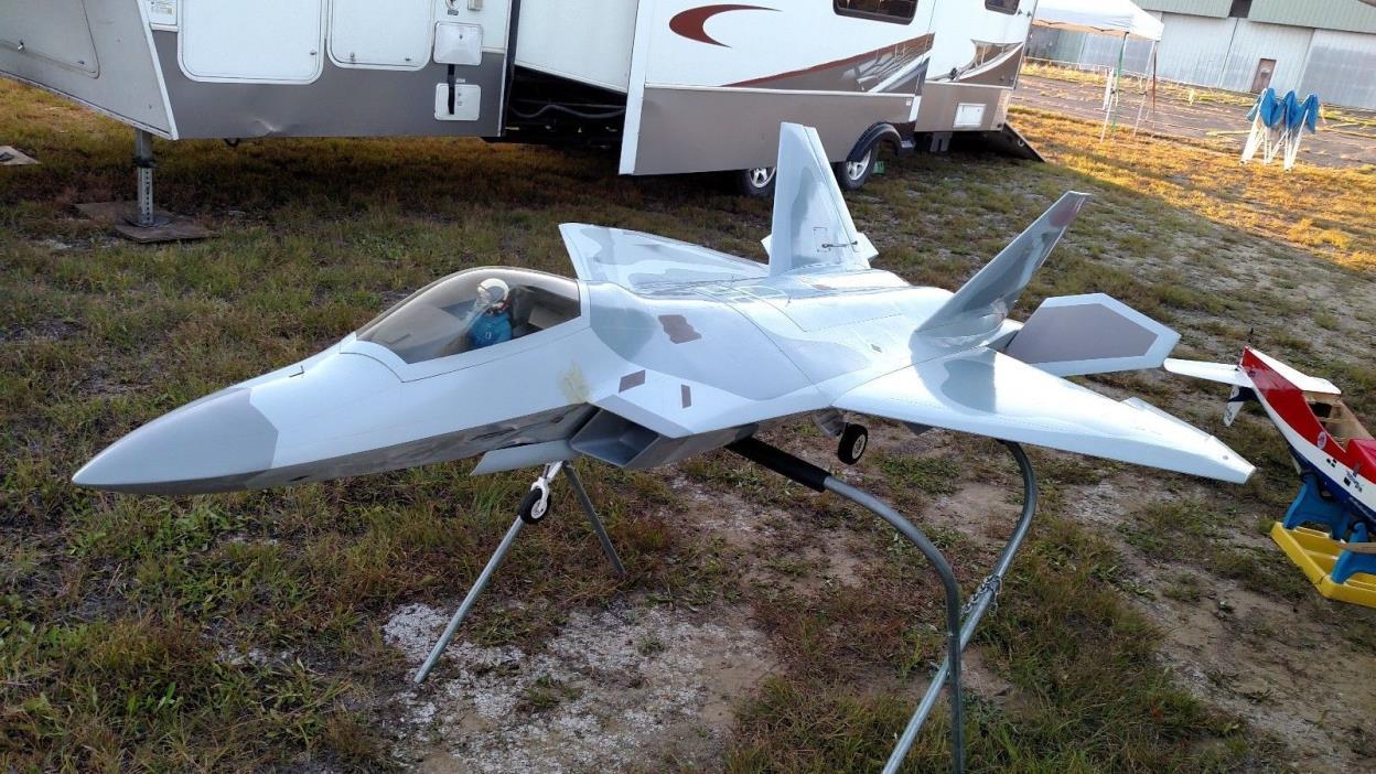 rc turbine jet airplane   f22 RAPTOR