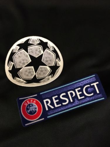 UEFA Champions League Patches RESPECT Starball