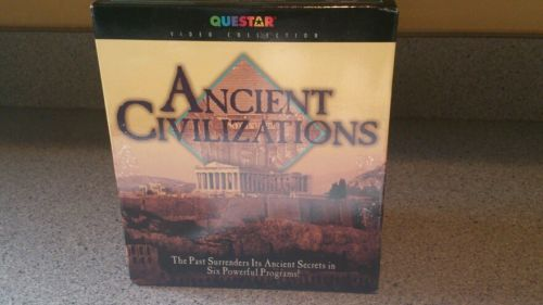 Ancient civilizations - a classic six pack vhs tapes NEW