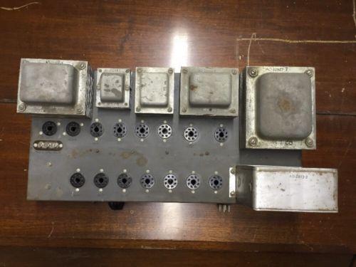 Hammond Organ 2 Channel HR-40 Amp LRA LR-A Uses 8 6V6 Tubes Guitar Project