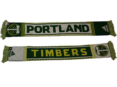 Portland Timbers Adidas Reversible Acrylic Knit Winter Scarf (54