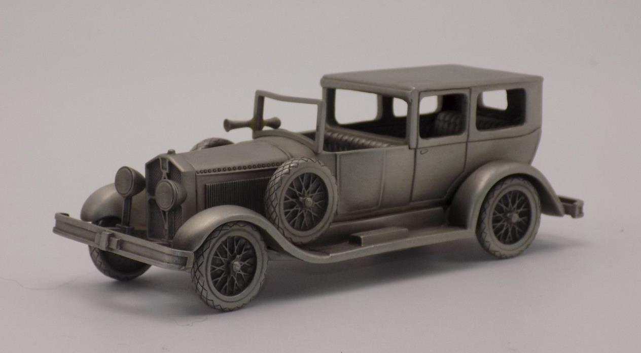Danbury Mint Pewter 1926 Isotta Fraschini Automobile in Box