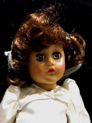 Effanbee Little Lady Bride Doll Vinyln V5836