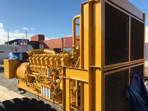 CAT 3516 Diesel 1750KW /1600Kw Prime 60Hz, 480V Generator 1290 Hours Since New.