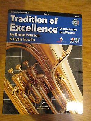 brand new Tradition of Excellence baritone book 2