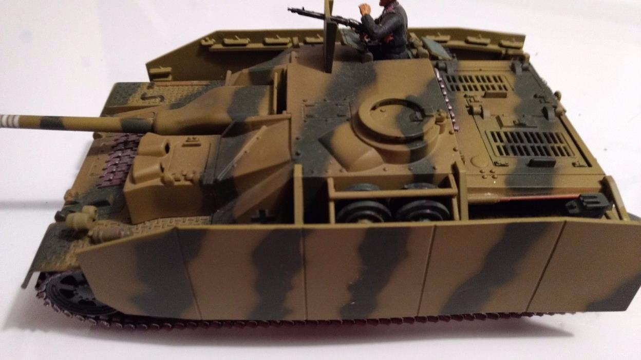 21ST CENTURY TOYS ULTIMATE SOLDIER GERMAN STURMGESCHUTZ IV 1:32 SCALE *LOOSE*