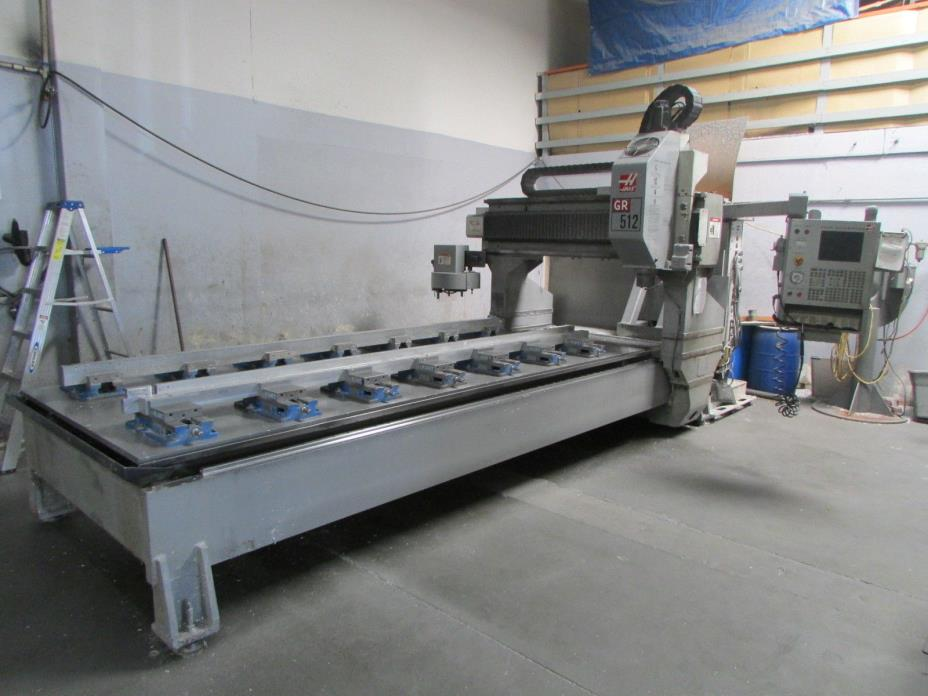 2005 HAAS GR512 CNC Router