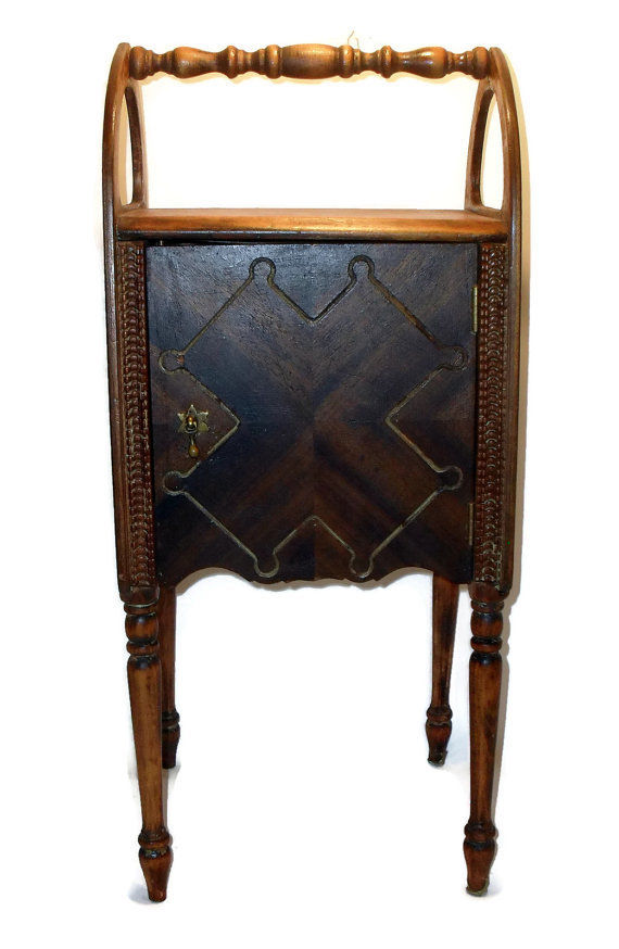Smoke-stand Humidore Antique Early 1900's
