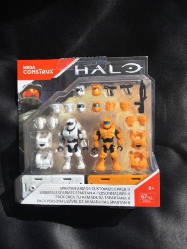 *MEGA CONSTRUX HALO* Spartan Armor Customizer Pack II #DXR56- 67 pcs!!