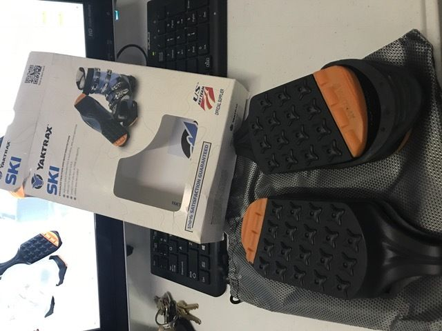 Yaktrax SkiTrax Black Orange Large