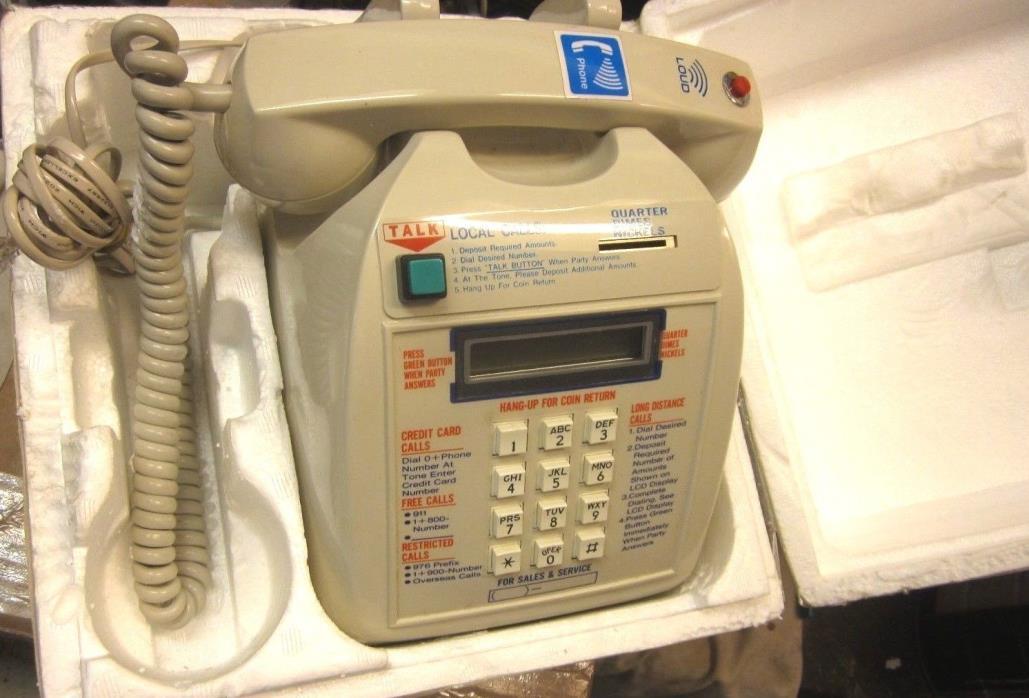 Desk Top Coin Telephone - NOS
