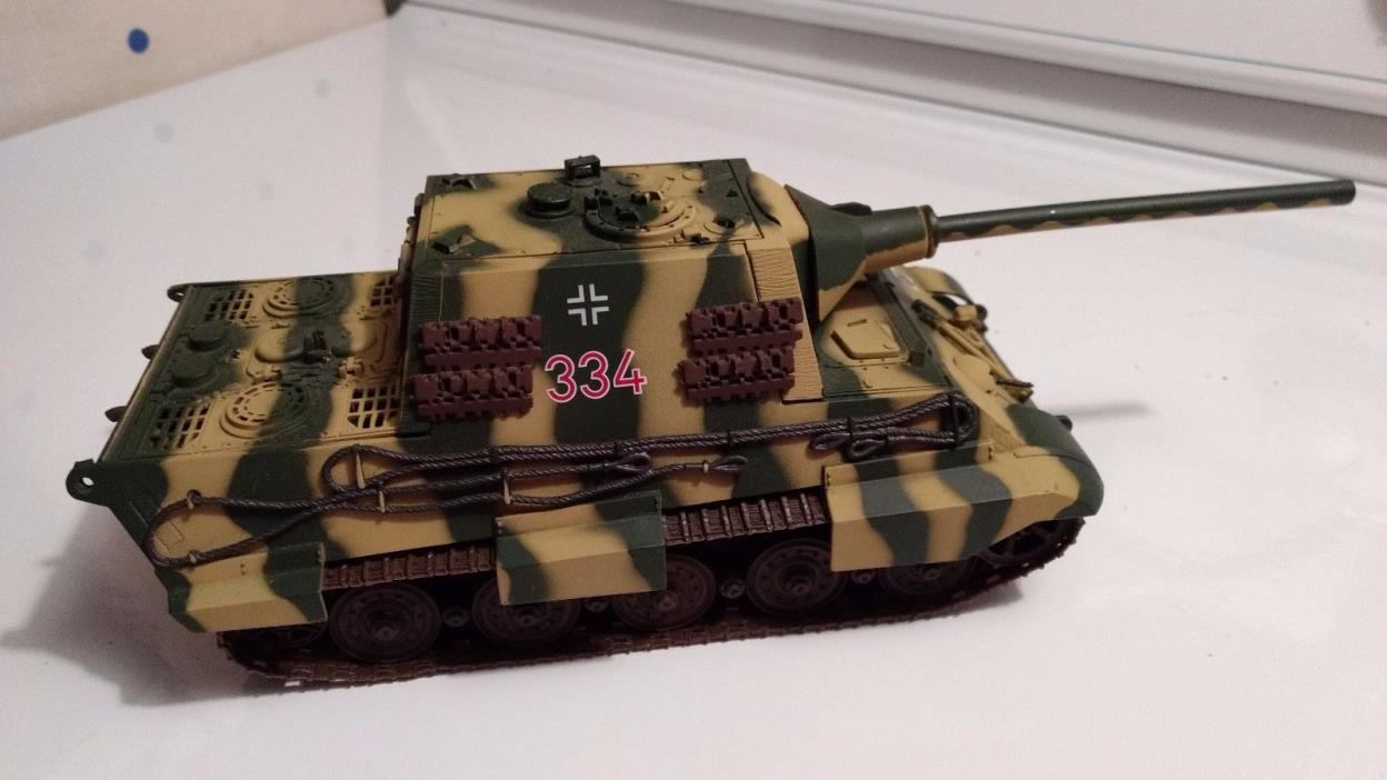 21ST CENTURY TOYS ULTIMATE SOLDIER 32X JAGDTIGER GERMAN TANK 1:32 SCALE *LOOSE*