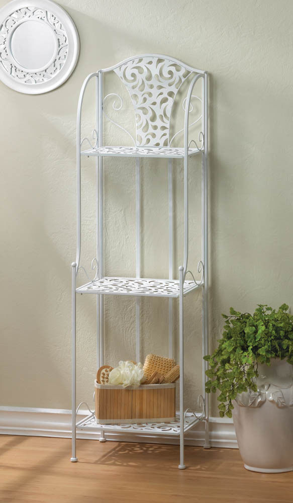 Shelving Rack Display Kitchen Bath Room Home Organizer Shelf Storage Decoration