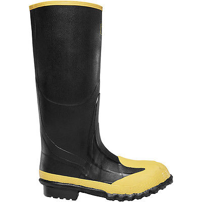 LaCrosse Footwear Meta Pac 16 Inch Rubber Boots Size 13, Pair