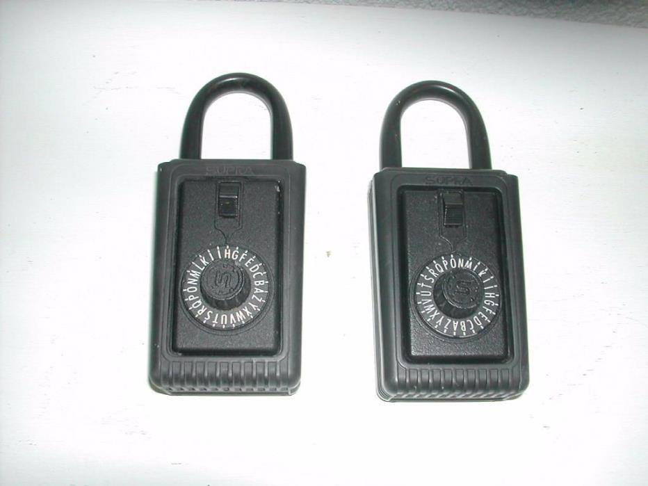 SUPRA Combination Lockbox Set of 2
