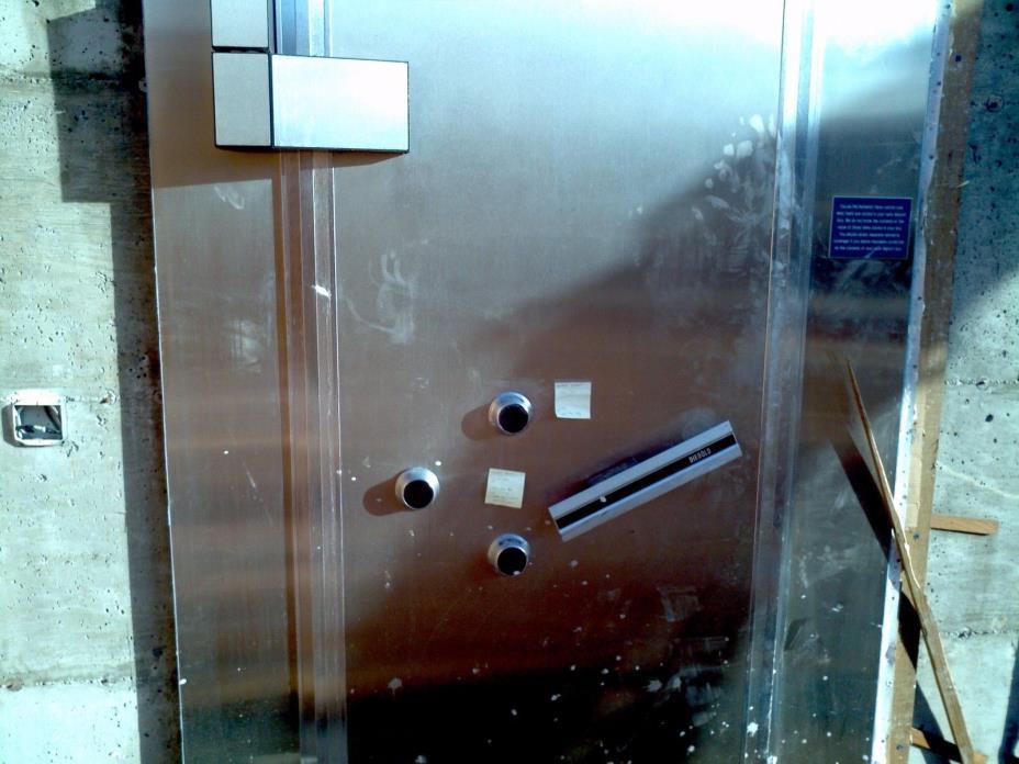 Diebold Safe Vault Door