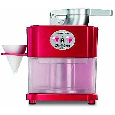 Shaved Ice Machines Waring Pro Snow Cone Maker Professional Quality