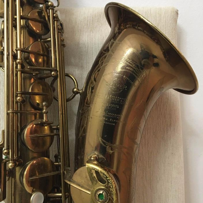 Selmer SBA Tenor Saxophone '1952 in EXCELLENT CONDITION with AIR CASE
