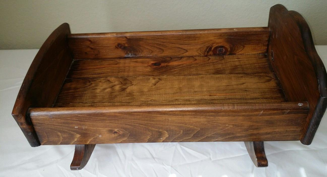 Wood baby cradle for sale classifieds Custom wood furniture for sale