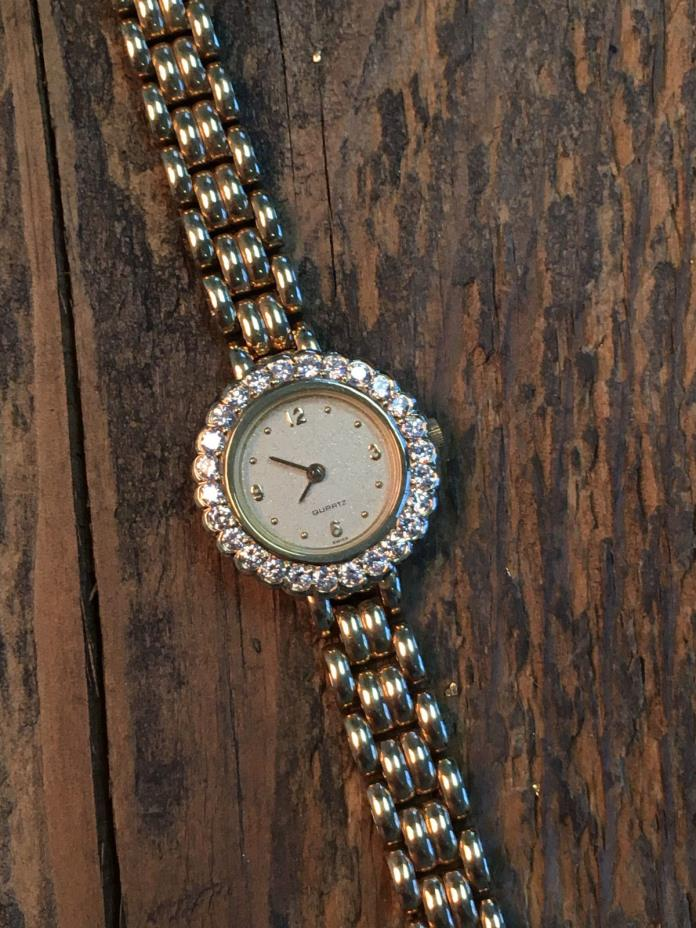 MOTHERS DAY SALE - WATCH - Swiss Movement - 14K Gold -