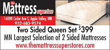 TWO SIDED Mattress Blowout!