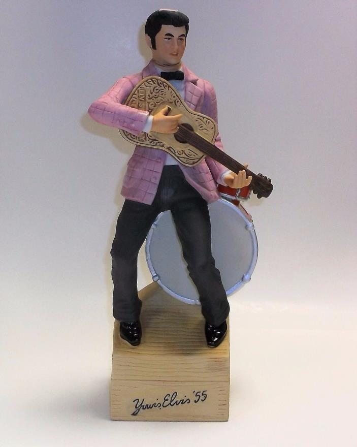 "1977 McCormick Elvis Presley ""55"" Whiskey Decanter"