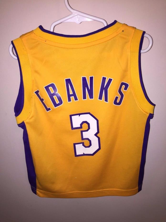 Lakers Adidas basketball jersey by Adidas NBA kids sz small