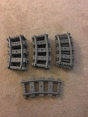 LEGO City Railroad Curved Train Tracks Set of 14