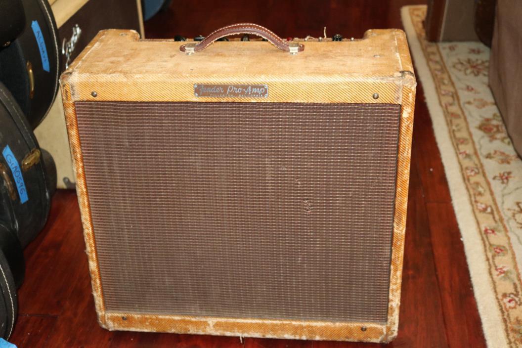 1958 Fender Tweed Pro Amp
