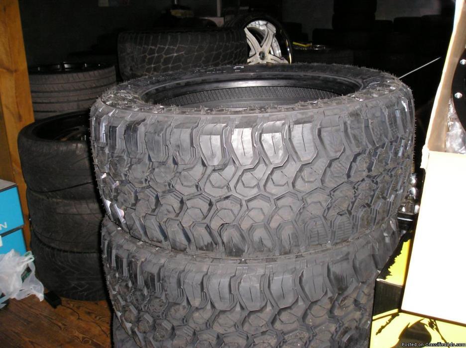 4 20 inch landsail tires