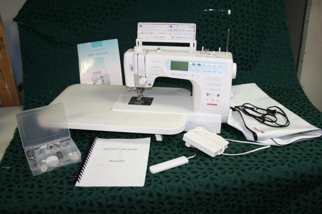 Machine janome memory craft sewing for sale classifieds for Janome memory craft 3000