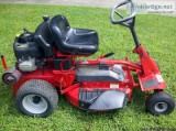 Snapper Riding Mower, quot; cut, hp, electric start, new ba