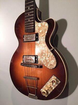 1966 (vintage) Hofner Club 50 Guitar