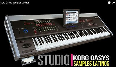 Korg Oasys Paquete De Samples Completo (Samples Only)