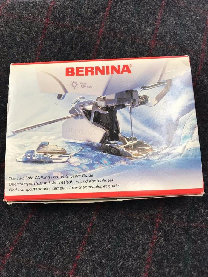 Authentic Bernina 2 Sole Walking Foot, New Style