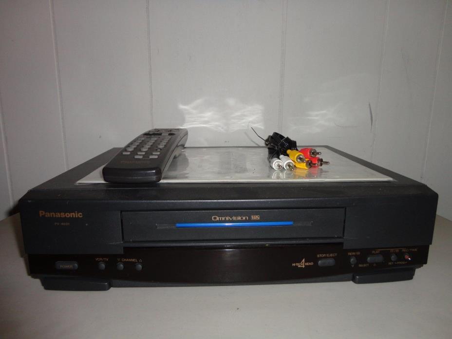 PANASONIC PV-4601 4 HEAD HI-FI STEREO VHS VCR COMMERCIAL SKIP