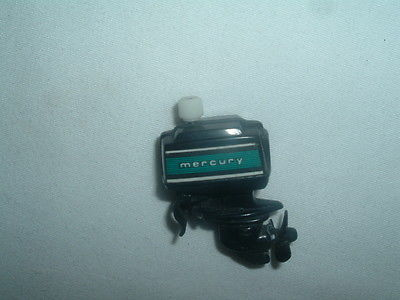 VINTAGE WIND UP TOMY MIGHTY MOTOR BOATS MERCURY OUTBOARD MOTOR