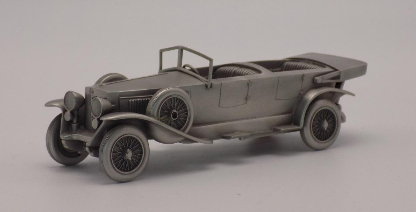 Danbury Mint Pewter 1926 Fiat Automobile in Box