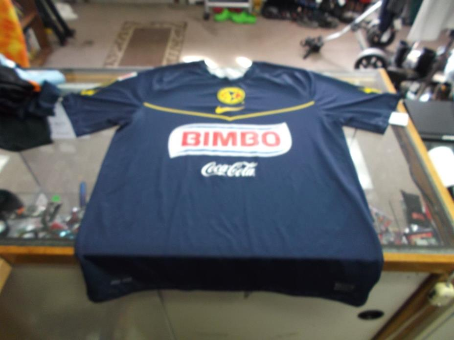 Club America 95 Aniversario 1916-2011 Men's Nike Dri Fit Jersey Size Large #7501