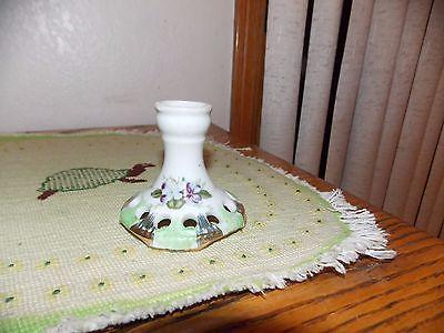 Violet Lefton Flower Frog Vintage