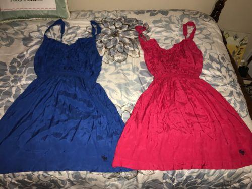 Lot of 2 Women's Abercrombie Sundresses *L*