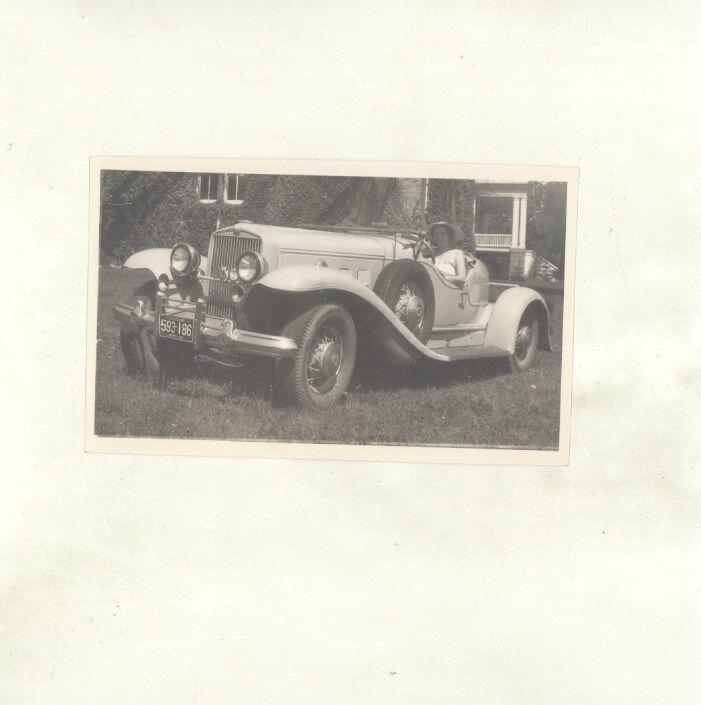 1932 ? Stutz DV32 Bearcat Speedster ORIGINAL US Photograph 1952 Maryland ww7122