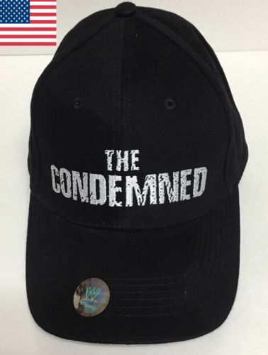 THE CONDEMNED Vinnie Jones Stone Cold Steve Austin WWE WWF Cap Hat DVD T-Shirt