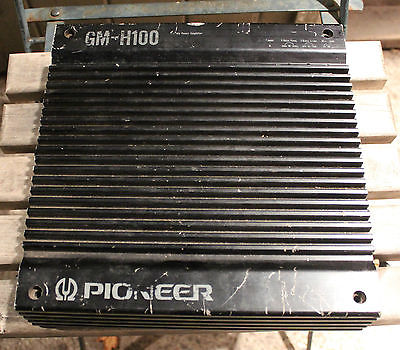 Pioneer GM-H100 Car Audio Amplifier Amp