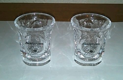 Snap-On Tools 95th Anniversary Shot Glasses