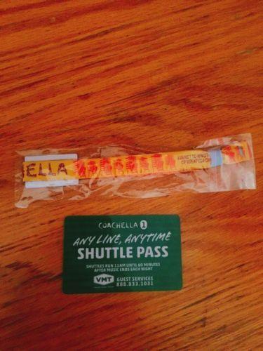 coachella 2017 weekend 1 Ticket + Shuttle Pass