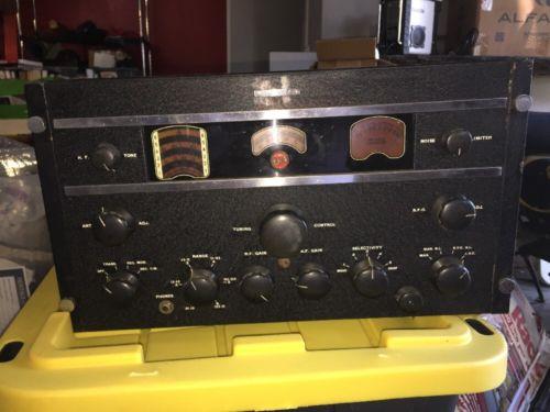 Very Rare  RCA SC-88 Signal Corps  AR-88 AR-88lf Receiver Radio